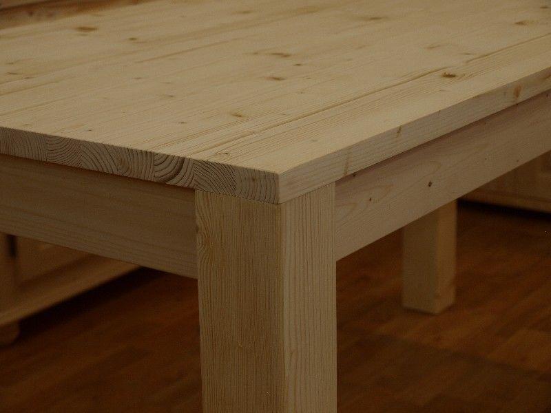 Market del legno conf 10 tavolo taverna 75x75 h 77 con for Tavoli in legno grezzo